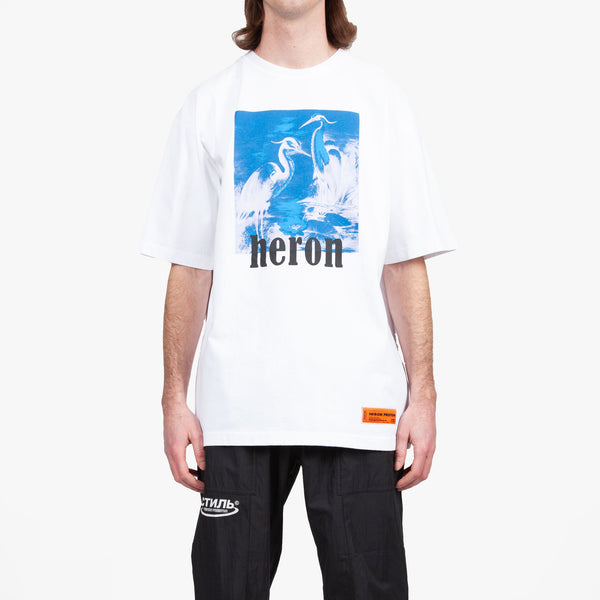 Blue Heron Over T-Shirt