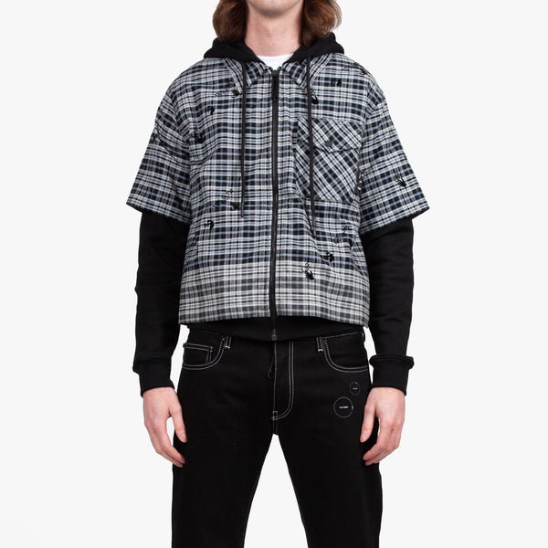 Degrade Hybrid Flannel Shirt
