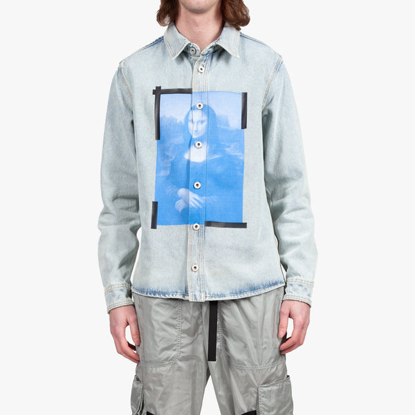 Blue Monalisa Denim Shirt