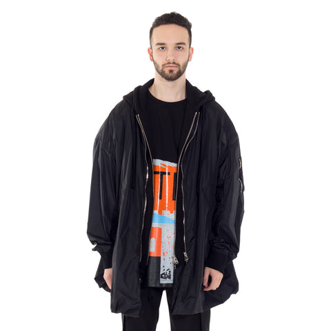 Raincoat Zip Hoody