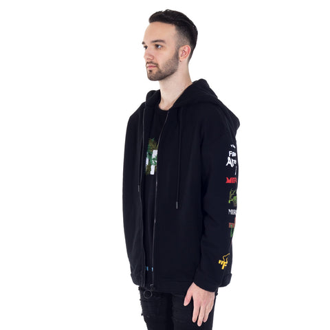 Mix Rock Zip Hoody