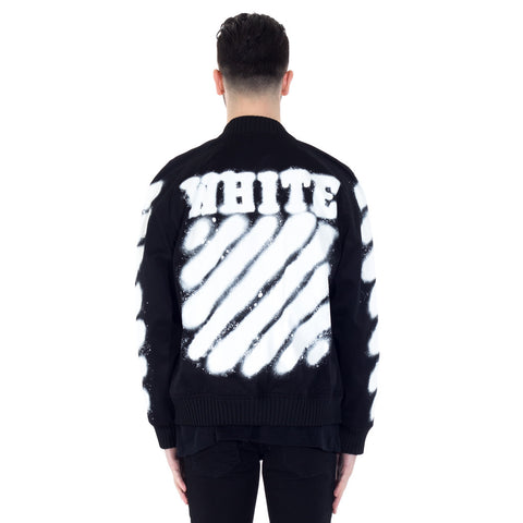 Diagonals Varsity Jacket