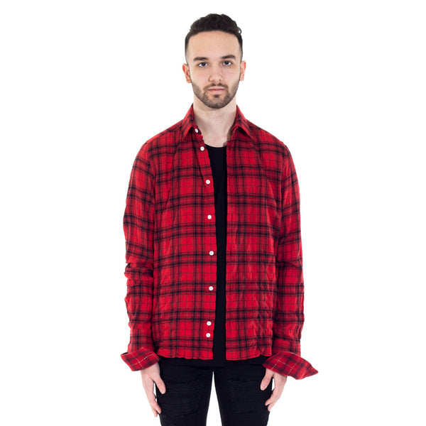 Double Sleeve Check Shirt