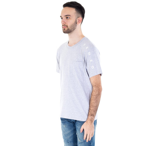 Shoulder Print Pocket Tee