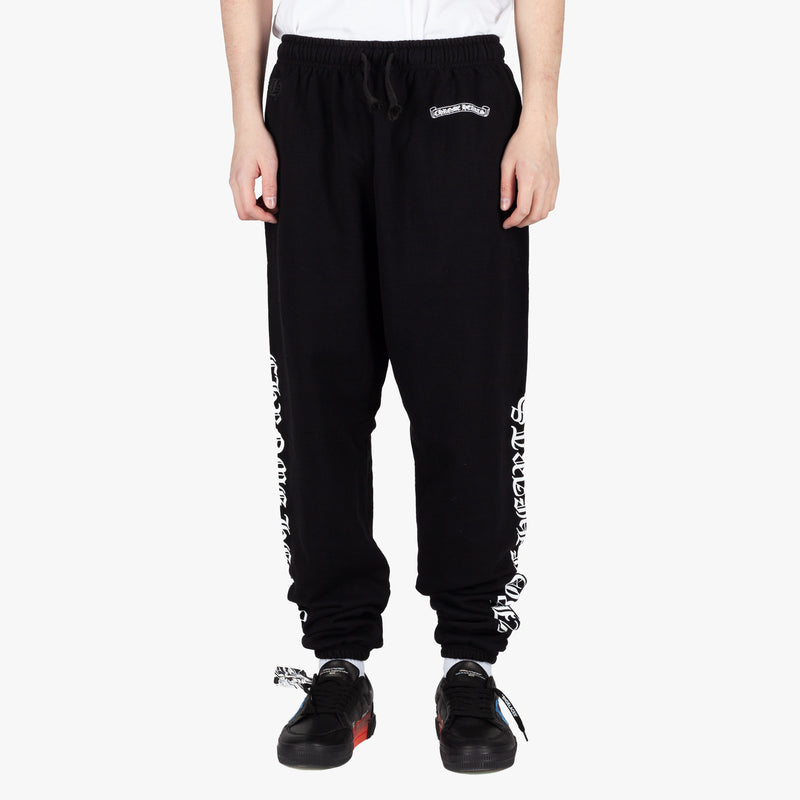 Script Scroll Label Sweatpants