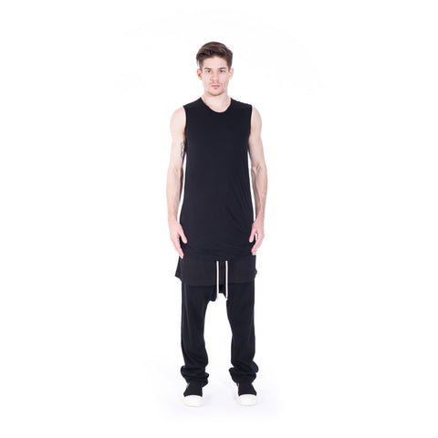 Rick Owens DRKSHDW Double Layer Sleeveless Top at Feuille Luxury - 5