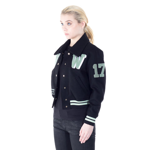 Ladies Patches Varsity Jacket