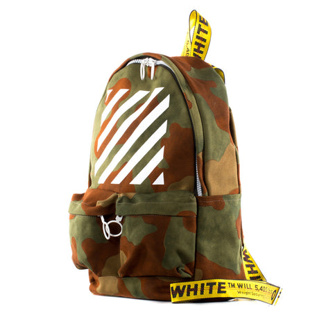 Diagonal Camouflage Backpack