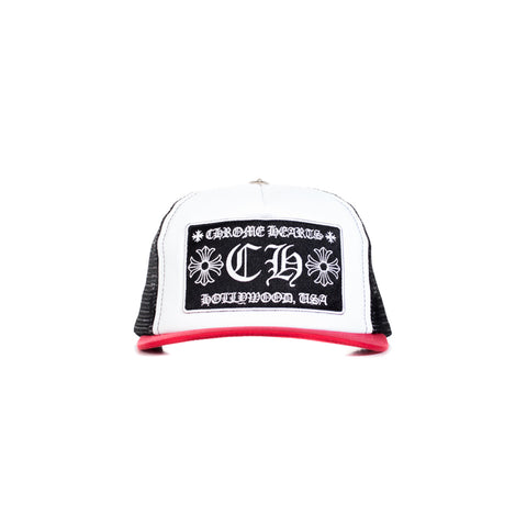 CH Patch White/Red/Black Trucker Cap