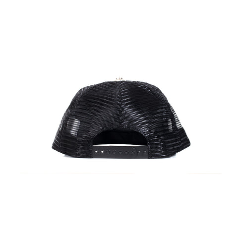 Rolling Stones Leather Tongue Trucker Cap