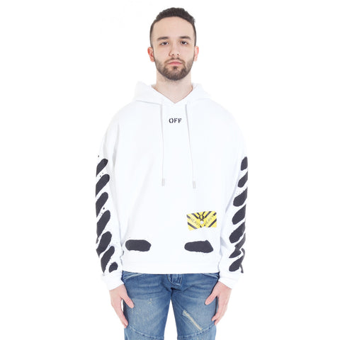 Diagonal Spray Hoody