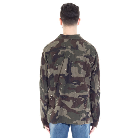 Crystals Camouflage Jacket
