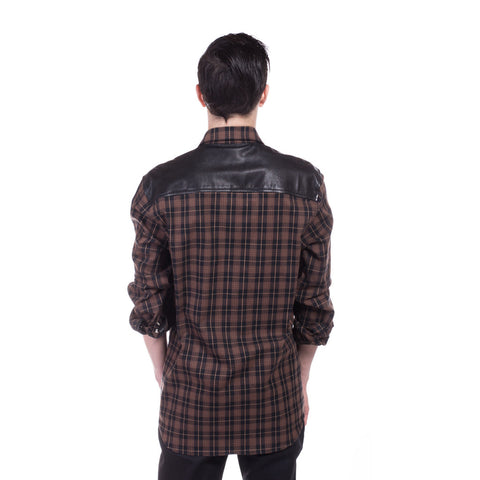 Chrome Hearts Big Mouth Flannel Shirt at Feuille Luxury - 4