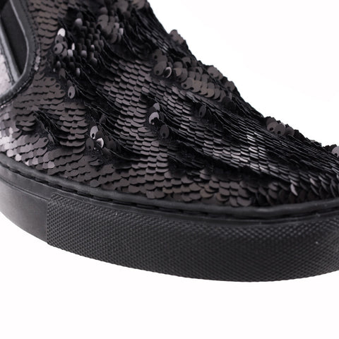 Juun.J Sequin Slip Ons at Feuille Luxury - 5
