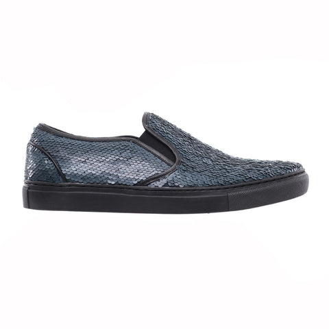 Juun.J Sequin Slip Ons at Feuille Luxury - 1