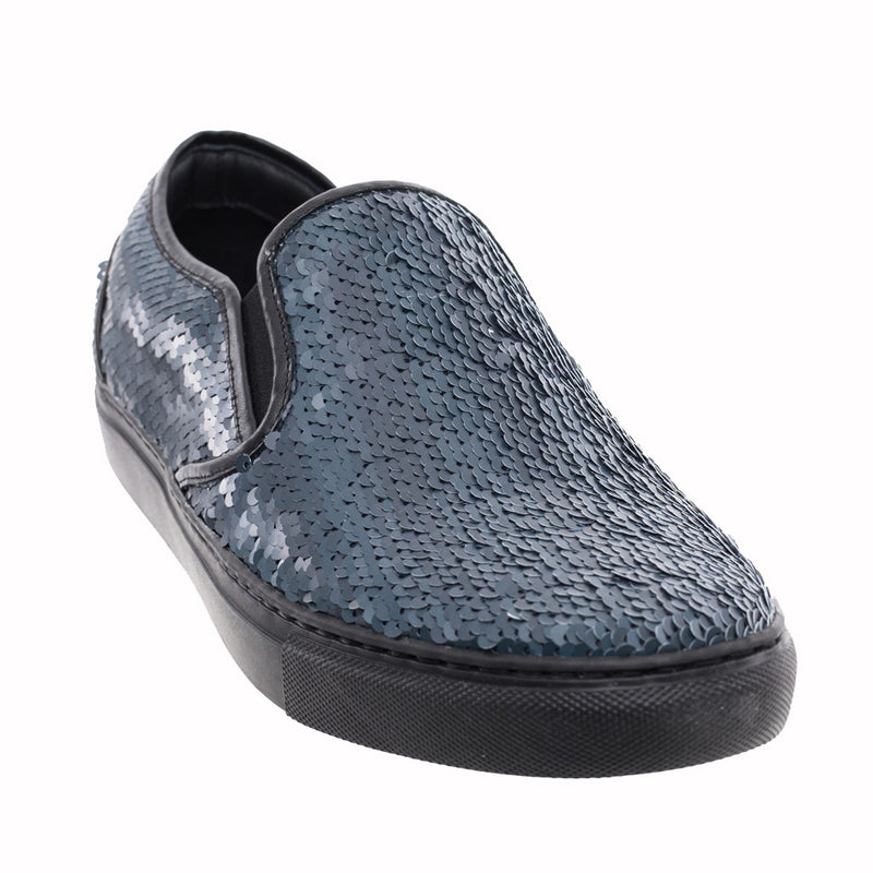 Juun.J Sequin Slip Ons at Feuille Luxury - 2