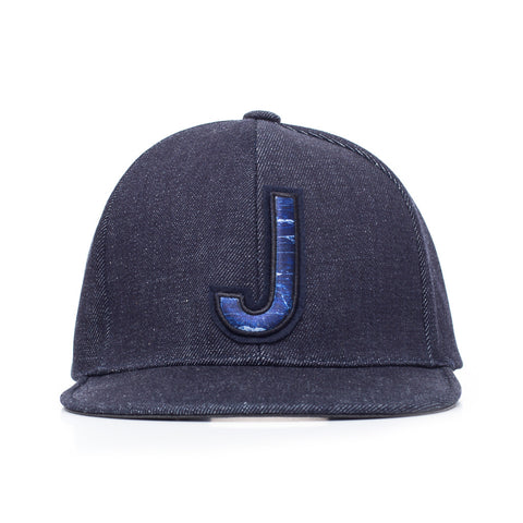 Juun.J Denim Baseball Cap at Feuille Luxury - 1