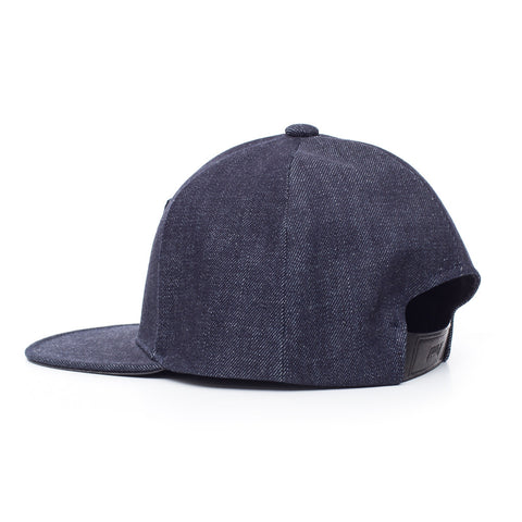 Juun.J Denim Baseball Cap at Feuille Luxury - 3