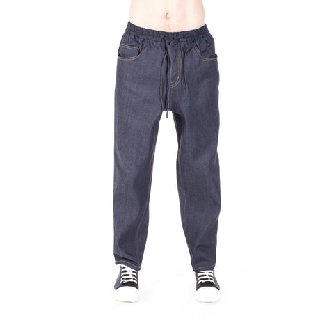 Juun.J Couture Oversize Denim Sweatpants at Feuille Luxury - 1