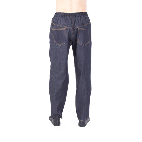 Juun.J Couture Oversize Denim Sweatpants at Feuille Luxury - 3