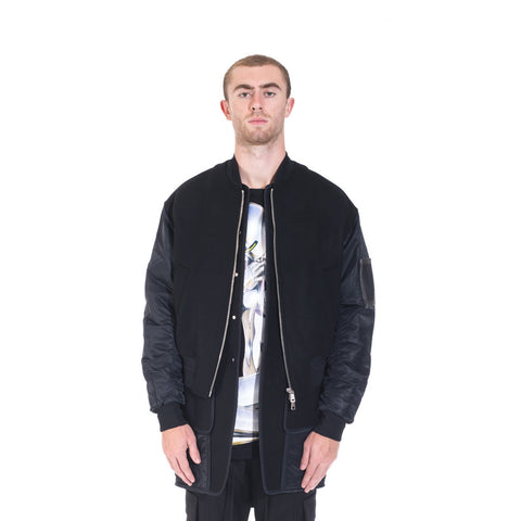 Juun.J Wool Double Layer Bomber at Feuille Luxury - 1