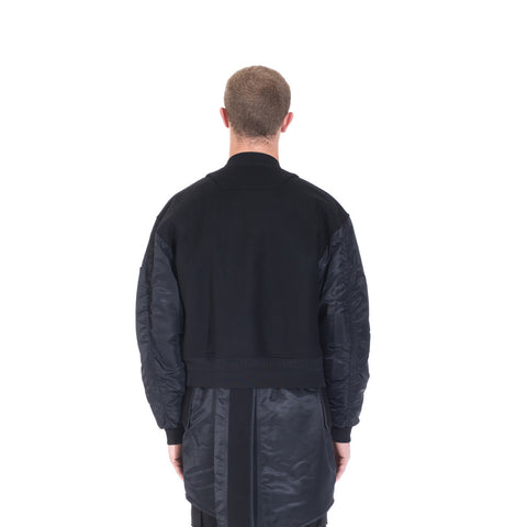 Juun.J Wool Double Layer Bomber at Feuille Luxury - 5