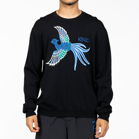 Embroidered Phoenix Sweater