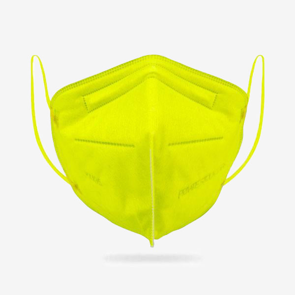 6-Ply KN95 Lime Protective Mask