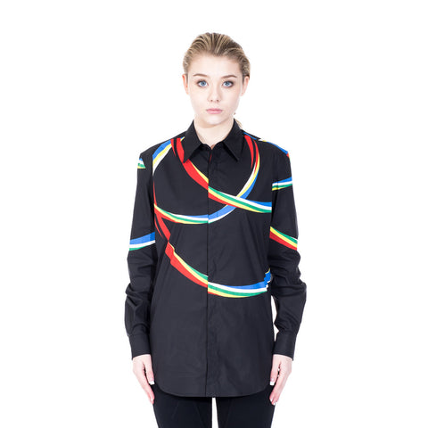 Marcelo Burlon Riberalta Dress Shirt at Feuille Luxury - 2