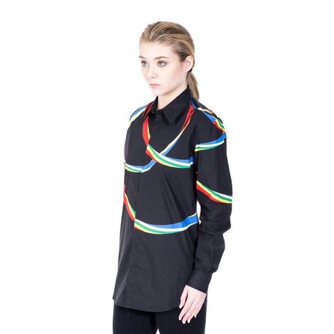Marcelo Burlon Riberalta Dress Shirt at Feuille Luxury - 5
