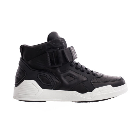 Marcelo Burlon Block High-Top Sneakers at Feuille Luxury - 1