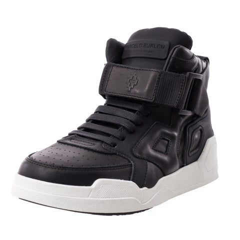 Marcelo Burlon Block High-Top Sneakers at Feuille Luxury - 2