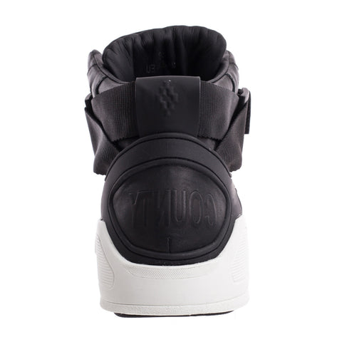 Marcelo Burlon Block High-Top Sneakers at Feuille Luxury - 3