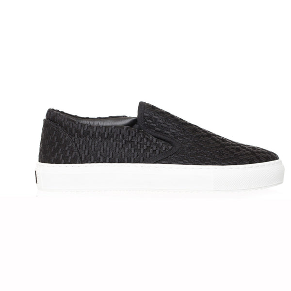 Marcelo Burlon Embroidered Cross Slip-On at Feuille Luxury - 1
