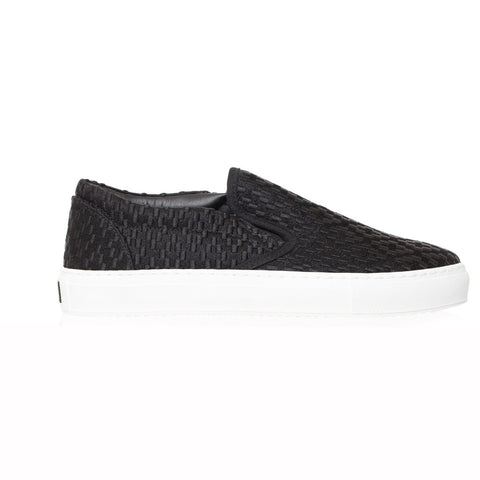 Embroidered Cross Slip-On