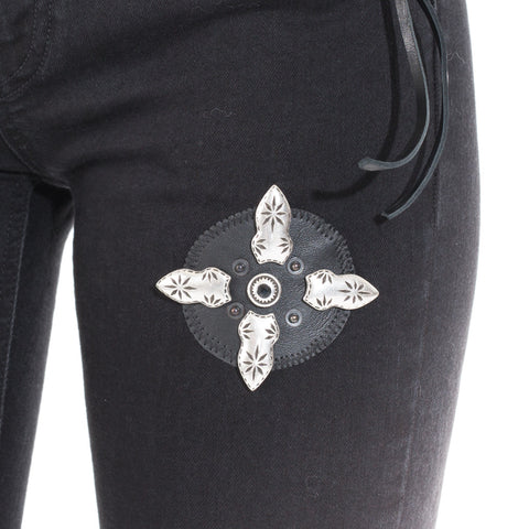 Marcelo Burlon Keira Slim Fit Denim at Feuille Luxury - 5