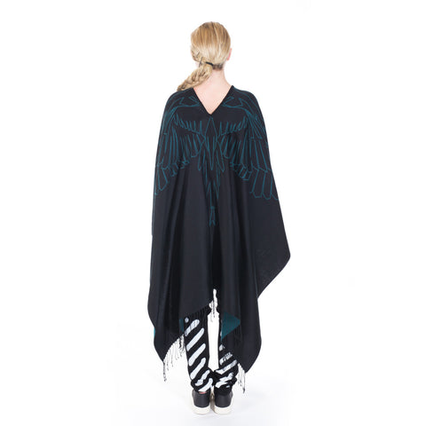 Marcelo Burlon Mai Poncho at Feuille Luxury - 3