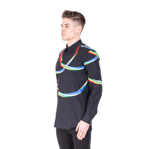 Marcelo Burlon Riberalta Dress Shirt at Feuille Luxury - 3