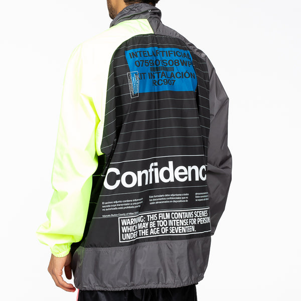 Intel Lettering Windbreaker
