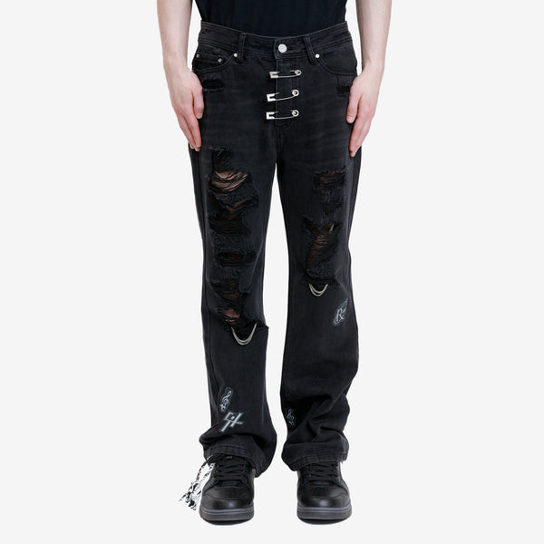 Ruin Distressed Chaos Jeans