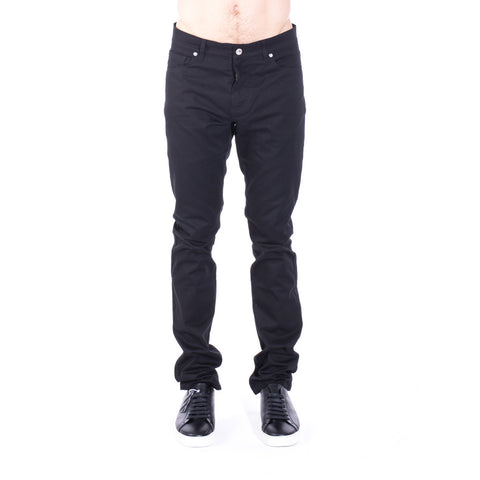 Moschino Basic Black Trousers at Feuille Luxury - 1
