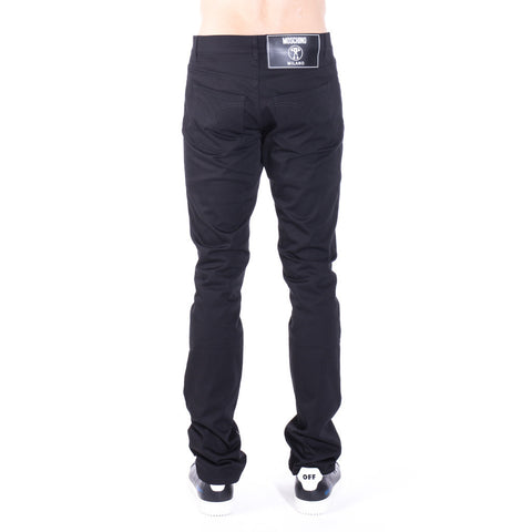 Moschino Basic Black Trousers at Feuille Luxury - 3