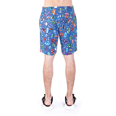 Moschino Diamond Jewel Shorts at Feuille Luxury - 3