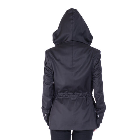 Moschino Hooded Sports Blazer at Feuille Luxury - 7