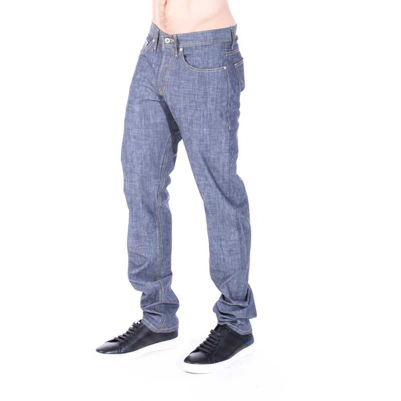 Naked & Famous Denim Weird Guy Indigo Selvedge Chambray at Feuille Luxury - 2