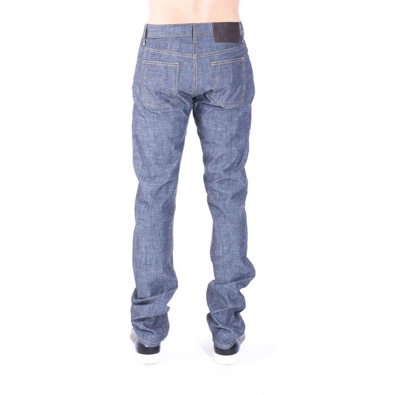 Naked & Famous Denim Weird Guy Indigo Selvedge Chambray at Feuille Luxury - 3