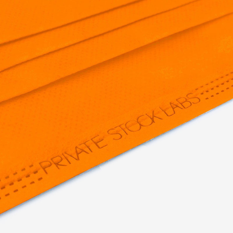 4-Ply Orange Protective Mask