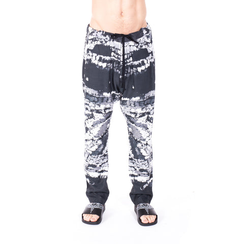 Printed Dropcrotch Trousers
