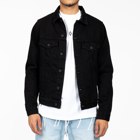 Industrial Slim Denim Jacket
