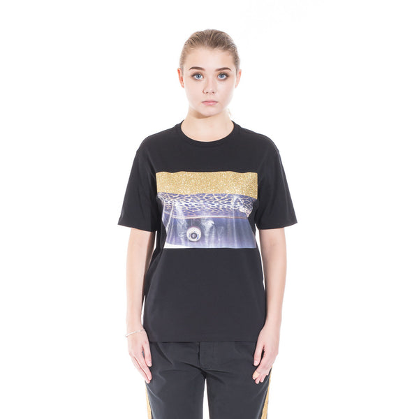 Palm Angels Glitter Skate Tee at Feuille Luxury - 2